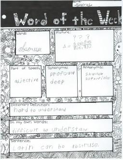 word of week 2