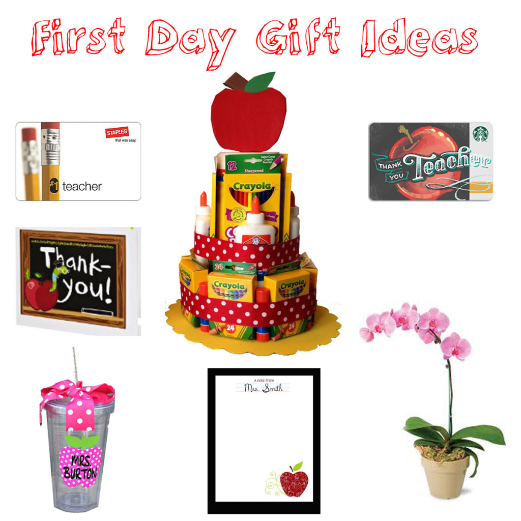 First Day Gift Ideas
