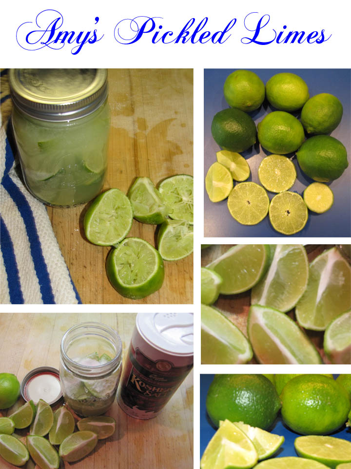 Pickled Limes