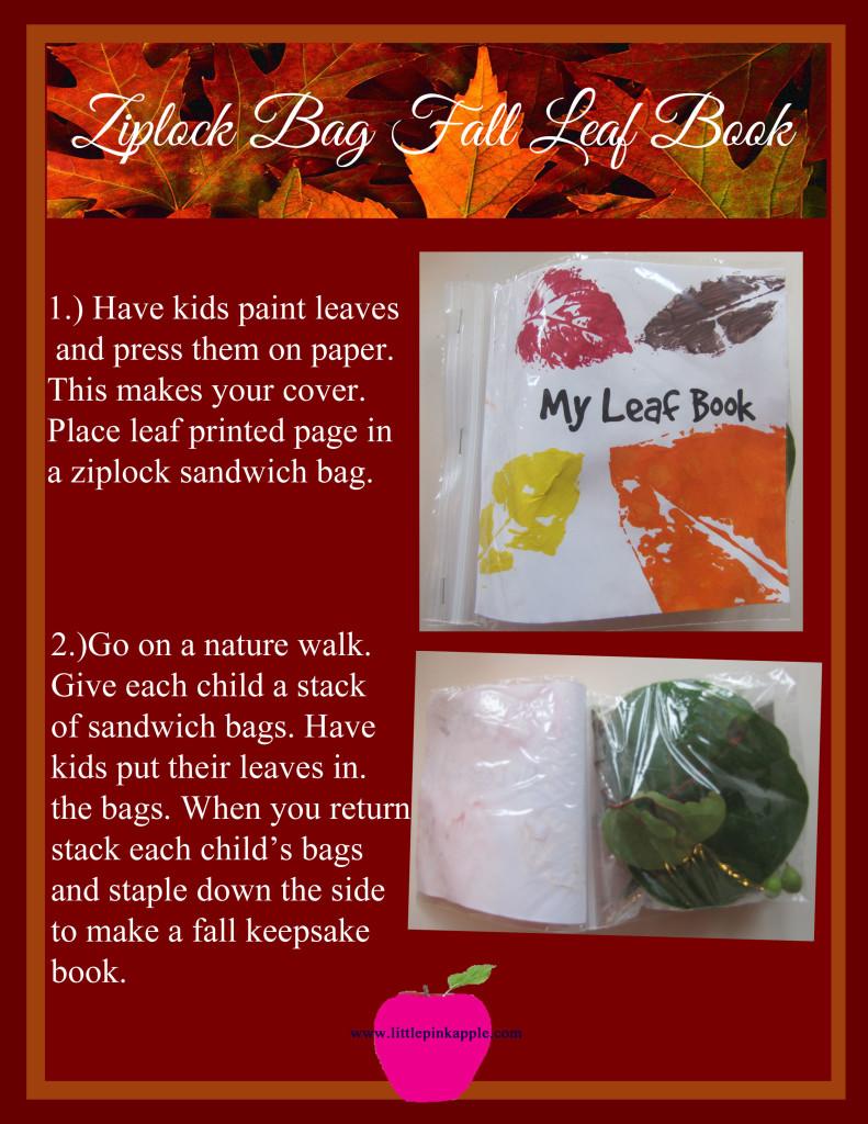 fall leaf book