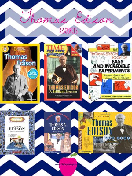 Thomas Edison Books