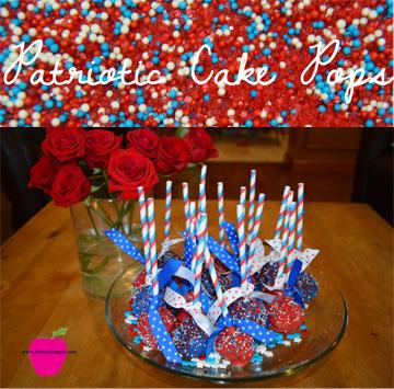 patriotic cake pops title