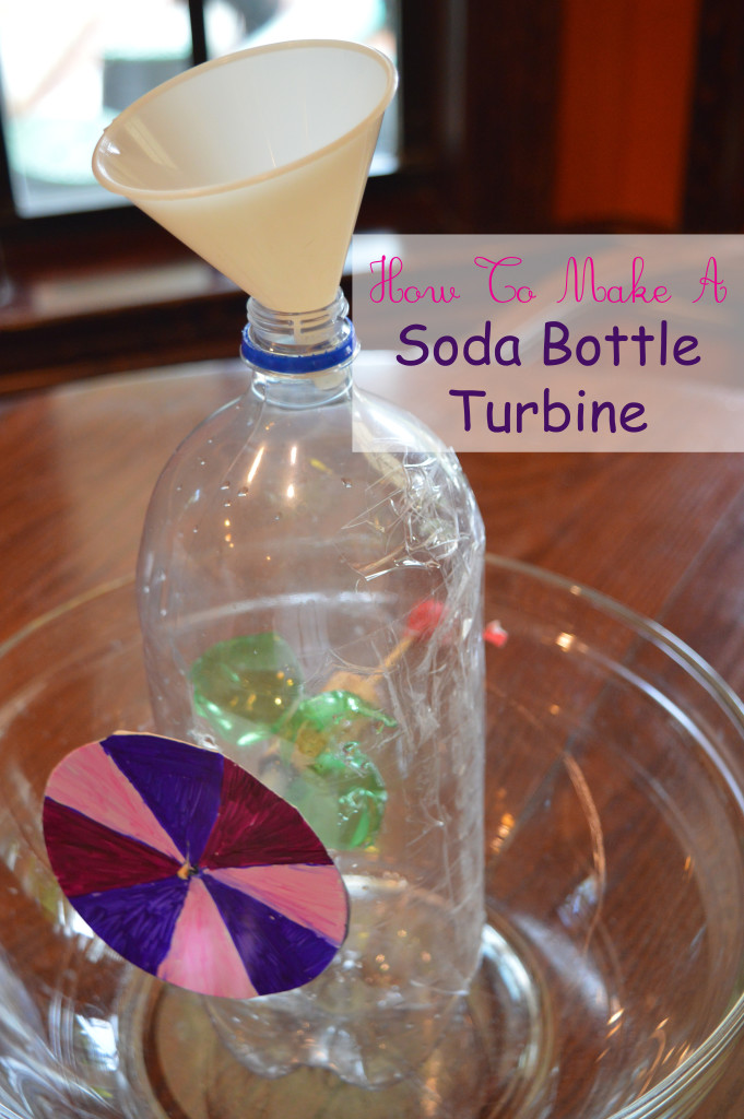 soda bottle turbine