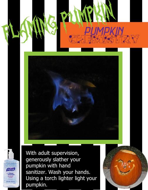 flaming pumpkin 21